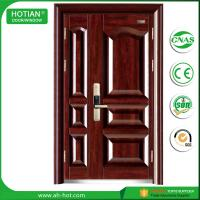 Best CE Approbed Steel Fire Rated Door Popular for House Entrance Metal Doors wholesale