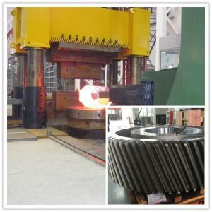 Quality MTC Hydraulic Press Forging Gear ASTM EN10228 STD Reducer Mining wholesale