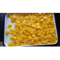 Best Fruit Jelly Snacks Canned Yellow Peach Dices In Light Syrup Promote Appetite wholesale