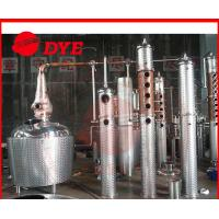 Best Ethanol Distillation Equipment For Resturant Stainless Steel Column wholesale