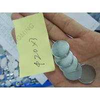 China N35 D20x3mm Rare earth disc ndfeb magnet super strong neodymium magnet Zinc plating on sale