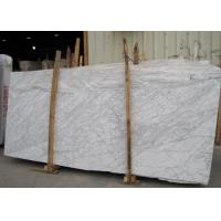 Best External  Wall Cladding Carrara White Marble Slab , Big Marble Garden Slabs wholesale