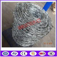 Buy cheap Traditional Twisted barbed wire 2 strand / Double Strand Barbed Wire coil/ from wholesalers