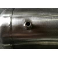 Cheap Stainless Steel Vertical Air Receiver Tank 3000psi Pressure ASME Certificate for sale