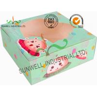 China Disposable Cardboard Food Packaging Boxes , Personalised Cardboard Takeaway Boxes on sale