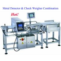Best Inspection system combined metal detector and check weigher wholesale