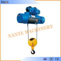 Best High Speed Monorail 3 Phase Electric Wire Rope Hoist 20 Ton 0.5~8m/min wholesale
