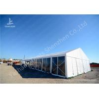 Quality 16M Wide Transparent Pvc Wall Outdoor Party Tents , Wind Resistant Garden Party Marquee wholesale