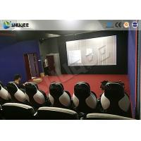 Best 11D Movie Theater 11D Roller Coaster Simulator With Luxury Genuine Leather Seats wholesale