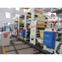 Best Label / Self - Adhesive Poly Coating Machine , Hot Lamination Machine With Linkage Control wholesale