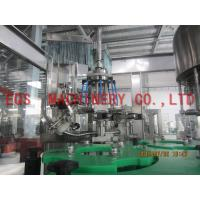 Best 750ML Bottle Wine Automatic Washing Filling Capping Machine For Vodka / Vhisky wholesale