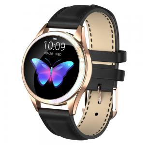 Best Round Lady Style NRF 52832 Heart Rate Monitor Smartwatch wholesale