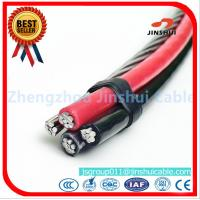 Cheap Xlpe / PVC / PE  Insulated AAAC Triplex Service Drop Cable 25 - 120 Mm2 Range for sale