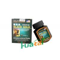 Best USA Black Gold Herbal Male Enhancement for Strengthen Body / Consolidate Sperms wholesale