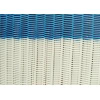 Best 100% Polyester Dryer Spiral Wire Mesh Screen With Large / Medium / Small Loop wholesale