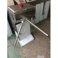 Best 304SUS Stainless Steel Semi automatic Vertical Tripod Turnstile with Anti jump Alarm Light wholesale