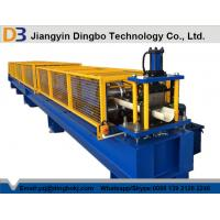 Plc Controlled Gutter Roll Forming Machine , Wall Panel Roll Forming Machine