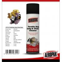 Best 450ml Car Cleaning Products , Carburetor Cleaner SprayFor Pvc Valve Grease wholesale