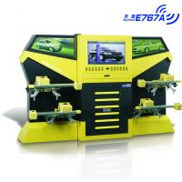 Best E767A Yellow CCD 3excel Wheel Aligner , Automotive Four Wheel Tire Alignment Computerized wholesale