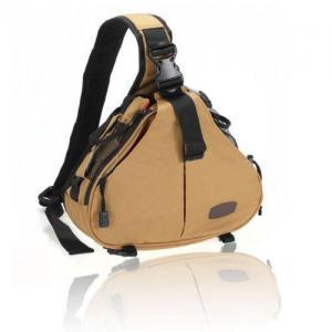 Cheap Caden K1 Shoulder camera Bag Triangle Carry Case (Khaki) for DSLR Sony Canon Nikon Camera for sale