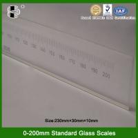 Best Highly Accuracy 200mm Glass Scale wholesale