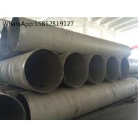 Quality Circular Seam Stainless Steel Welded Tube , 321 Stainless Steel Tubing ASTM A358 A312 wholesale