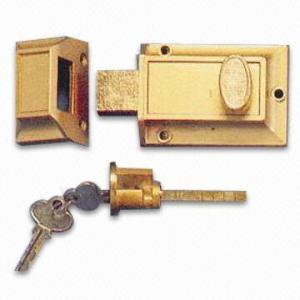 Cheap Deadbolt Lock, Made of Zinc-alloy for sale