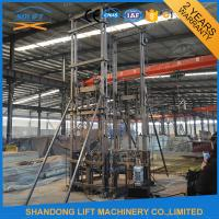 Best 1ton Vertical Wall Mounted Warehouse Elevator Lift with 4 m Lifting Height 1 t Loading Capacity wholesale