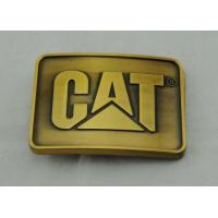 Best Casting Pewter Custom Made Buckles Gold Plated , Cat Belt Buckle wholesale