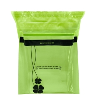 Buy cheap Embossing 0.05mm Thickness Biodegradable Waste Bags CMYK 45 Gallon from wholesalers