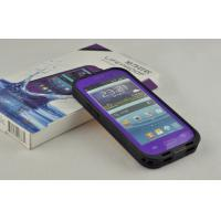 Best PC Purple Waterproof Cell Phone Case IP 68 Lifeproof For Samsung Galaxy S3 wholesale