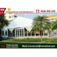 Best Outdoor Big  A Frame Tent PVC Fabric With Hot Dip Galvanized Steel Parts wholesale