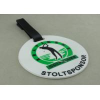 Best Customized 3D Design Soft PVC Plastic Luggage Tags / Personalized Bag Tags wholesale