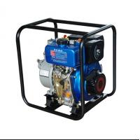 Best 5.5L Fuel Tank 3600 Rpm 4'' Water Pump , High Pressure Diesel Water Pump wholesale