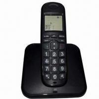 Best LCD Cordless Telephone with Phone Book, White LCD Backlight Color wholesale
