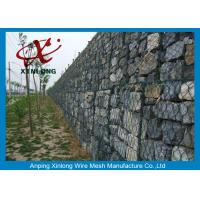 Best Decorative Gabion Wire Mesh / Gabion Wall Fence For Protecting Dam wholesale