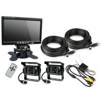 "Best HD Waterproof IP67 Rugged Truck Trailer Reverse Camera With Colour 7"" LCD Monitor wholesale"