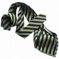 Best Seven-fold Polyester Necktie, Measures 145 x 9cm, Customized Sizes/Logos and Materials are Accepted wholesale