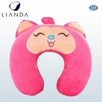 Cheap Custom U Shaped Travel Neck Pillow For Air Traveling , Animal Neck Support Pillow for sale