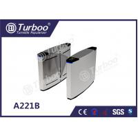 Best 304 Stainless Steel Optical Barrier Turnstiles With Multiple Anti - Pinch wholesale