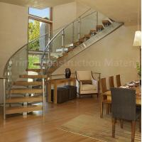 Best Internal residential glass treads curved staircase wholesale