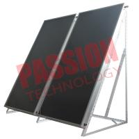 Best Solar Thermal Flat Plate Collectors Blue Coating wholesale