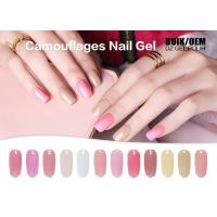 Best No Buble UV Hard Gel Nail Polish , Gel Soak Off Nail Polish For Extension wholesale