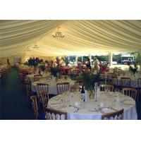 Best Customized Advertising Outdoor Wedding Tents with White PVC Wall wholesale
