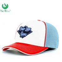 Best Eco - Friendly Custom Fitted Baseball Hats 2D Flat Embroidered Logo Advertising wholesale