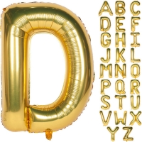 Best Gold Helium Foil Mylar Alphabet Letter Balloons for Wedding Birthday Party Decoration wholesale