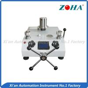 Best Piston Type Pressure Gauge Calibration Equipment For Measurement Room wholesale