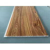 Best Waterproof Wooden Color Decorative PVC Panels Easy Cleaning And Maintenance wholesale