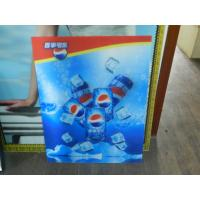 Best PS lenticular material large size 3d poster large format lenticular advertising poster 3d flip printing wholesale