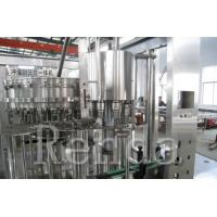 Carbonated Drinks Automatic Bottle Filling Machine For Beverage Production